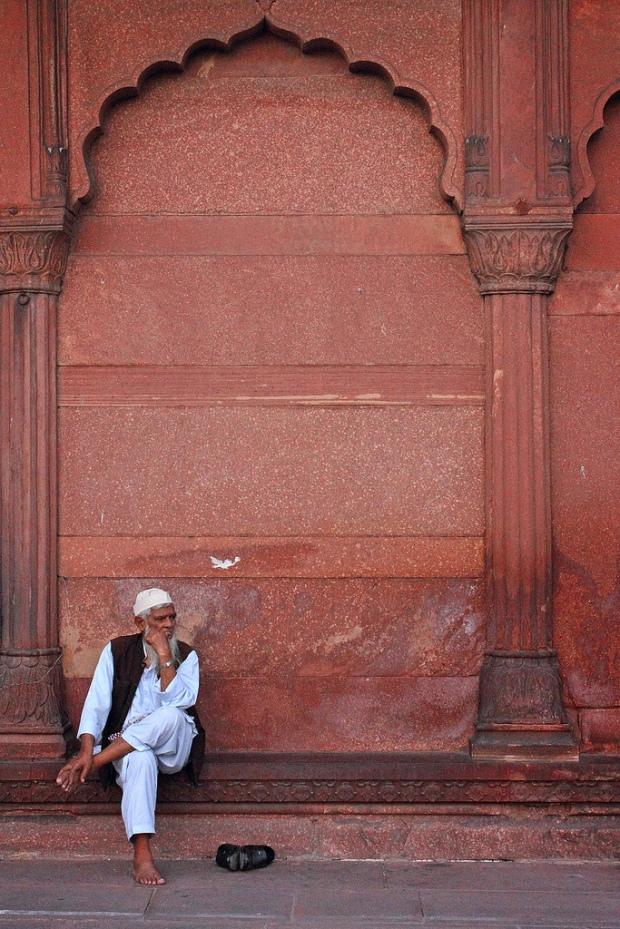 Omair-Jamia mosque Delhi