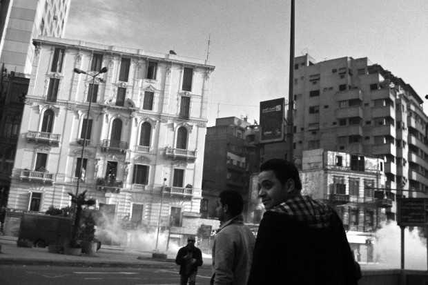 street clashes in Cairo