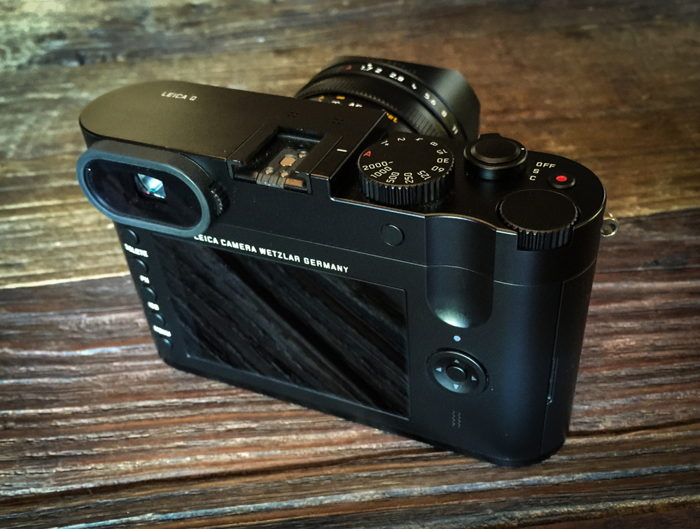"""First Impression of the LEICA Q """"Hemingway"""" (Typ 116"""